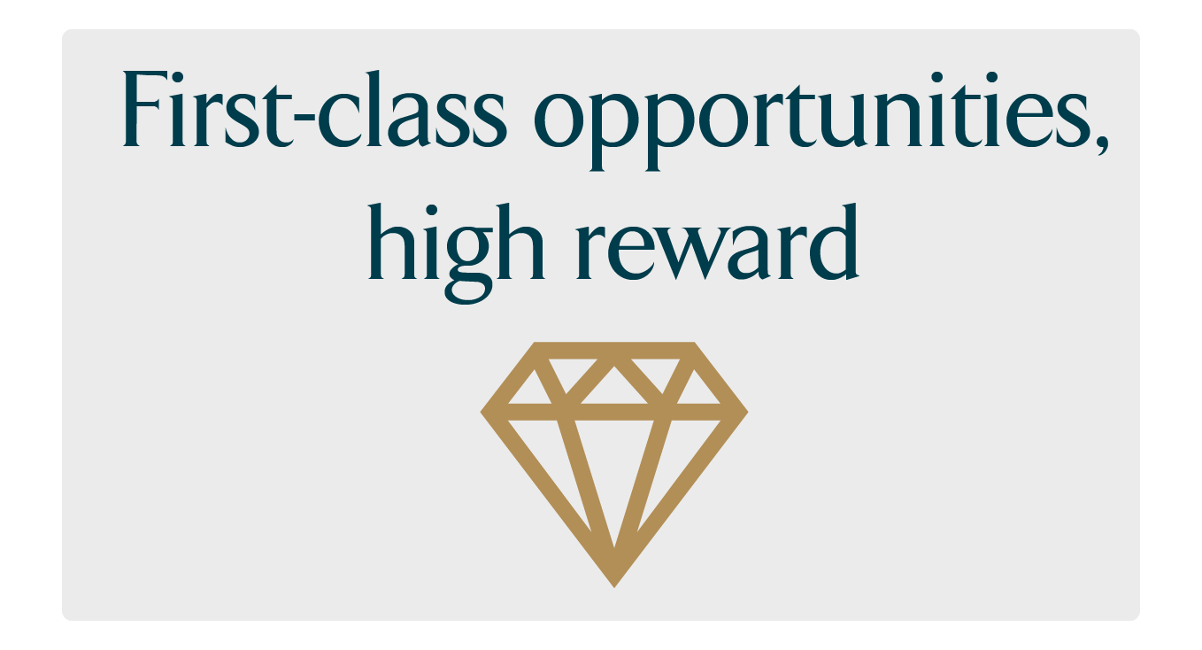 Opportunities and reward