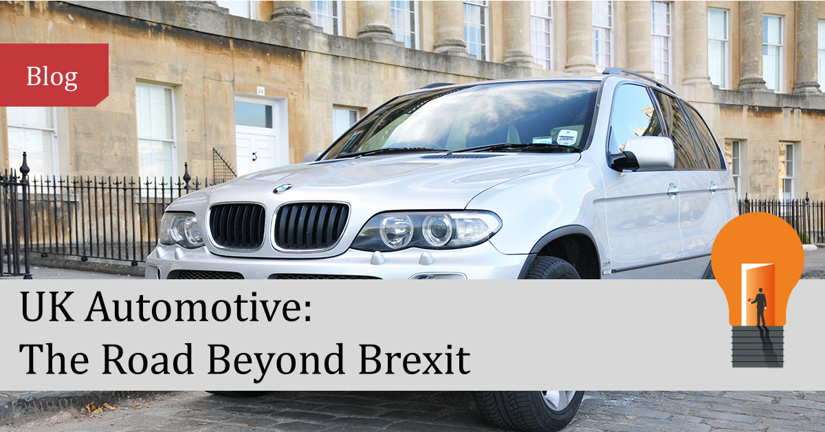 UK Automotive: The Road Beyond Brexit
